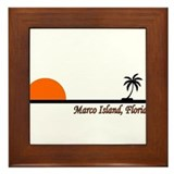 Marco Island, Florida Framed Tile