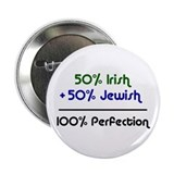 "Irish & Jewish 2.25"" Button (10 pack)"