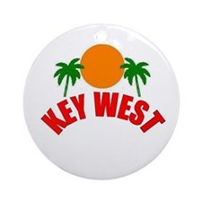 Key West, Florida Ornament (Round)