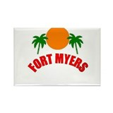 Fort Myers, Florida Rectangle Magnet (10 pack)
