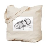 Pencil - Jazz Tap Shoe Tote Bag