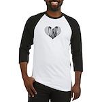 Xylophone Heart Baseball Jersey