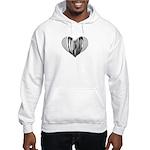 Xylophone Heart Hooded Sweatshirt