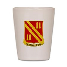 42nd Field Artillery Shot Glass