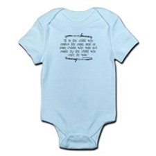Child Makes the Man Infant Bodysuit