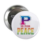 P is for Peace Button
