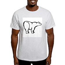 Polar Bear Ash Grey T-Shirt