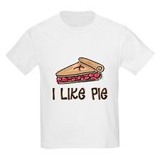 I Like Pie Ash Grey T-Shirt T-Shirt