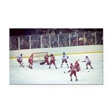 Miracle on Ice Rectangle Car Magnet
