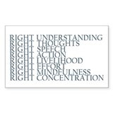 Noble Eightfold Path sticker