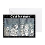 Cosi fan tutte Greeting Cards (Pk of 10)