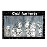 Cosi fan tutte Postcards (Package of 8)