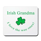 Irish Grandma Mousepad