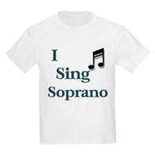Singer Kids T-Shirt