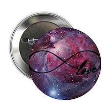 "Infinite love nebula 2.25"" Button"