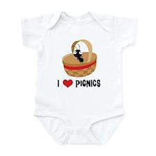 I Love Picnics Infant Bodysuit