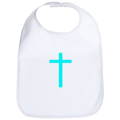 Teal Cross Bib