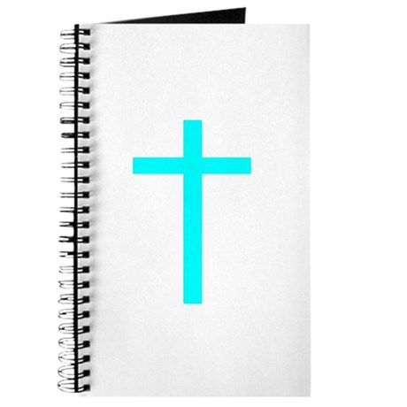 Teal Cross Journal