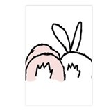 Cool Rabbit Postcards (Package of 8)