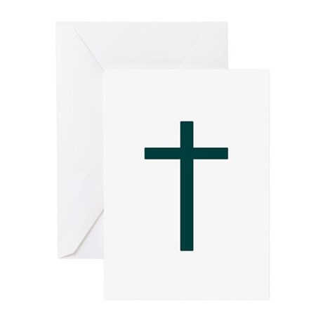 Green Greeting Cards (Pk of 10)