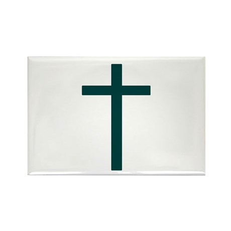 Green Rectangle Magnet (10 pack)