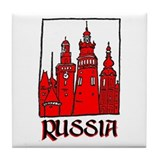 Russia Tile Coaster