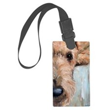 Airedale blues Luggage Tag