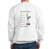 """Live by the Creed"" fighting spirit Sweatshirt"