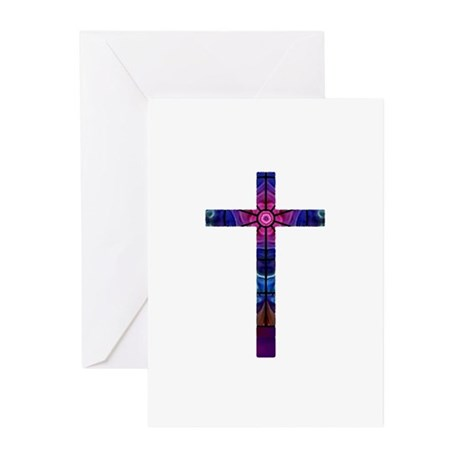 Cross 012 Greeting Cards (Pk of 10)