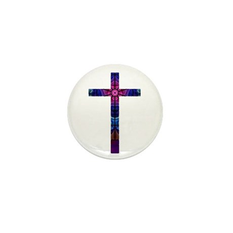 Cross 012 Mini Button