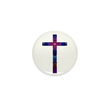 Cross 012 Mini Button (100 pack)