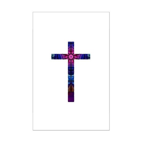 Cross 012 Mini Poster Print