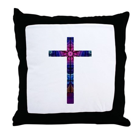 Cross 012 Throw Pillow