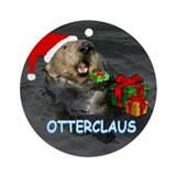 OTTERCLAUS Ornament (Round)
