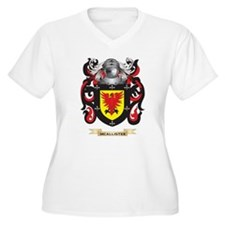 McAllister Coat of Arms - Family Crest Plus Size T