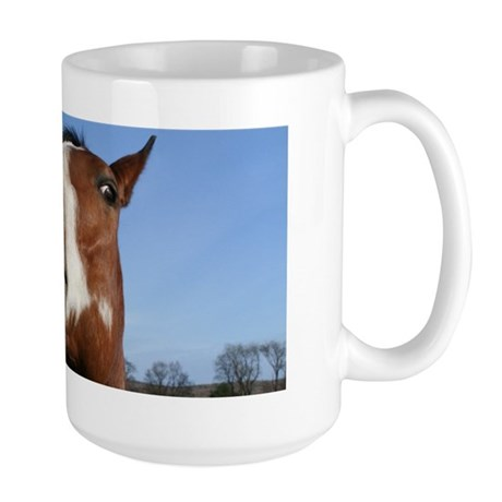Laughing Horse Large Mug