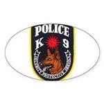 SPS Canine Oval Sticker