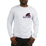 One Bad Mother Trucker Long Sleeve T-Shirt