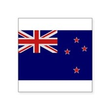 """New Zealand Flag"" Rectangle Sticker"