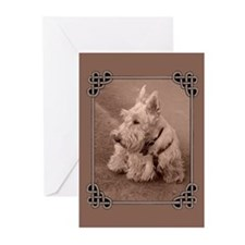 Wheaten Scottie Greeting Cards (Pk of 10)
