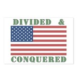 Divided & Conquered Postcards (Package of 8)