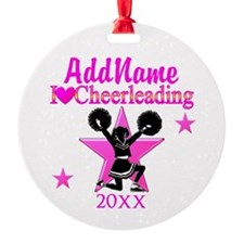 CHEERING CHAMP Ornament