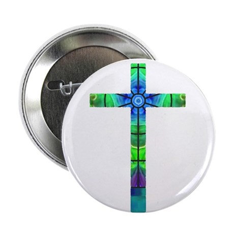 "Cross 013 2.25"" Button (10 pack)"