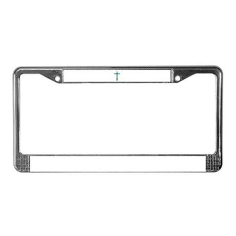 Cross 013 License Plate Frame