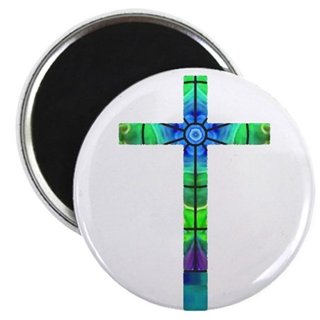 "Cross 013 2.25"" Magnet (100 pack)"