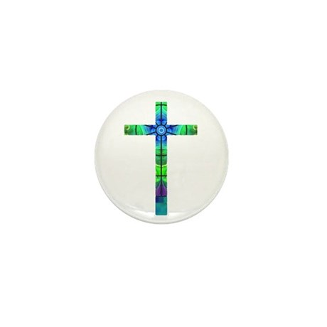Cross 013 Mini Button