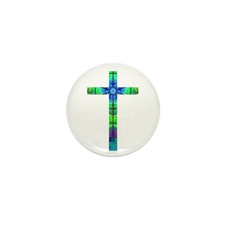 Cross 013 Mini Button (10 pack)