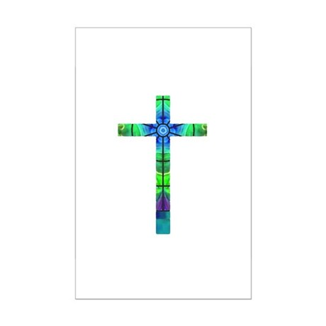 Cross 013 Mini Poster Print