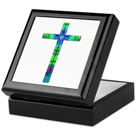 Cross 013 Keepsake Box