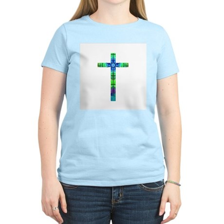 Cross 013 Women's Pink T-Shirt